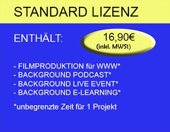 Standard Lizenz - GEMAFREI 16,90€