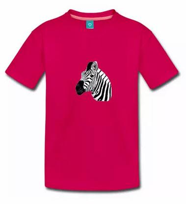 T-Shirt Motiv Zebra